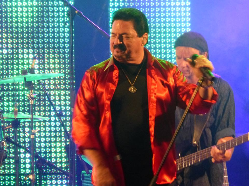Willy Wagner Bassist mit Bobby Kimball