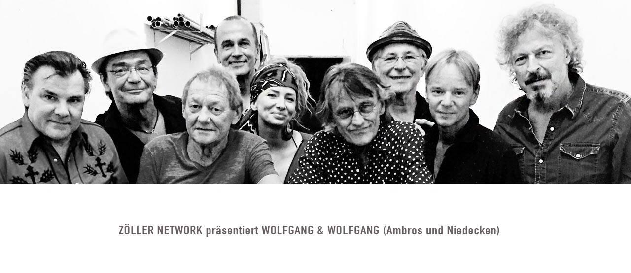 Willy mit Juergen Zoeller Wolfgang Ambros Wolfgang Niedecken