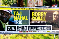 Bobby Kimball Taj Mahall mit Willy Wagner Bassist