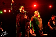 Andreas Kuemmert Bobby Kimball mit Willy Wagner Bassist
