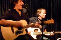 Willy Wagner Bassist und Fabian Michel