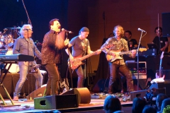 Willy Wagner Bass mit Bobby Kimball Band