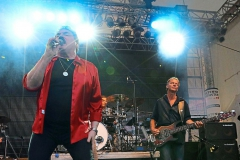 Willy Wagner Bassist mit Bobby Kimball Münster 2015