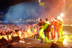Bobby Kimball Saarspektakel mit Willy Wagner Bassist