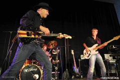 Willy Wagner Bassist mit Jim Kahr (ex John Lee Hooker)