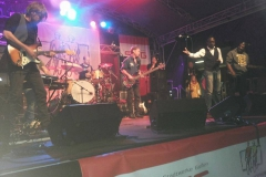 Willy Wagner Bassist mit Sydney Youngblood u Isaak Rosewelt 2014
